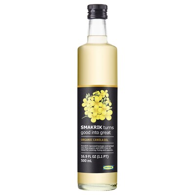 SMAKRIK Canola oil, organic, 16.9 oz