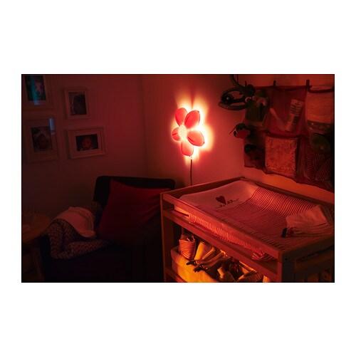 SMILA BLOMMA Wall lamp - - IKEA