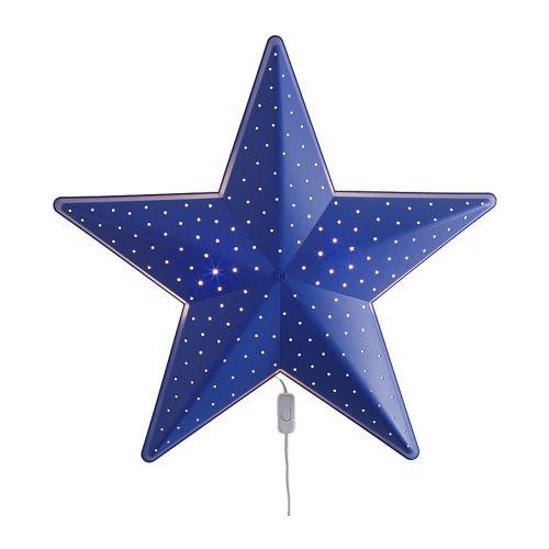 SMILA STJÄRNA Wall lamp, blue blue 11