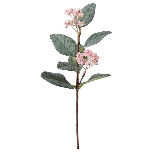 "SMYCKA artificial flower eucalyptus/pink 11 ¾ """