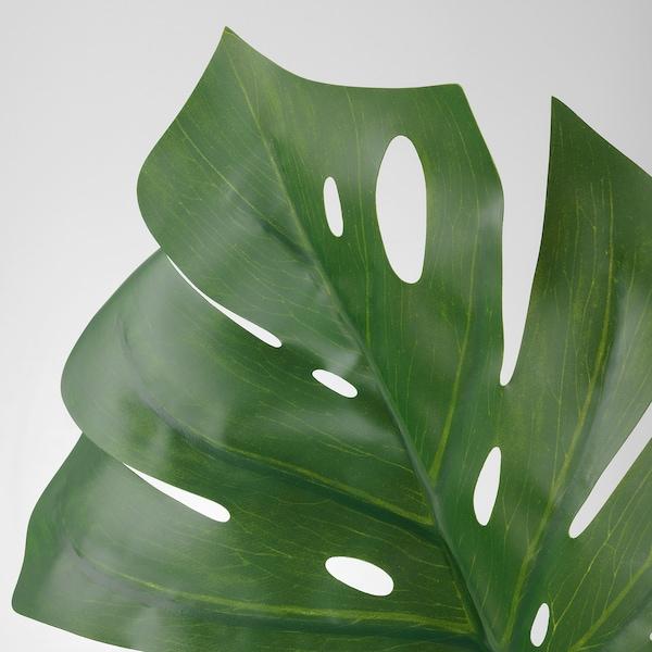 "SMYCKA Artificial leaf, monstera/green, 31 ½ """