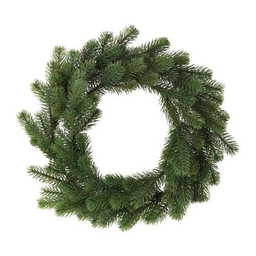 Smycka artificial wreath ikea - Sapin de noel artificiel ikea ...