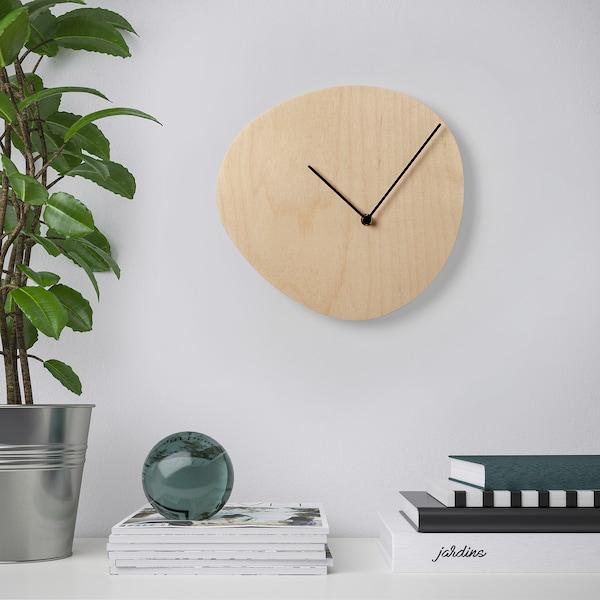 "SNAJDARE Wall clock, birch plywood, 11 """