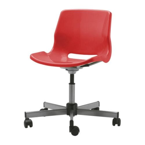 SNILLE Swivel chair IKEA Height adjustable for a comfortable sitting posture.