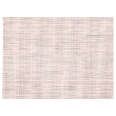 "SNOBBIG Place mat, light pink, 17 ¾x13 """