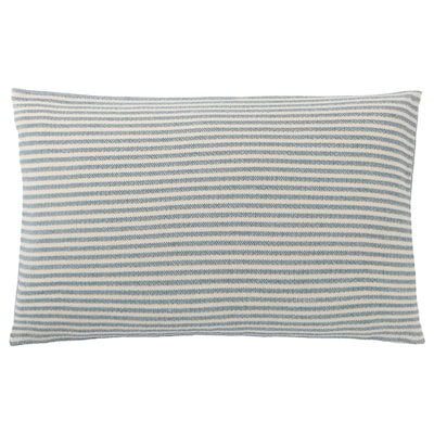 """SNÖFRID cushion cover turquoise/white 16 """" 26 """""""