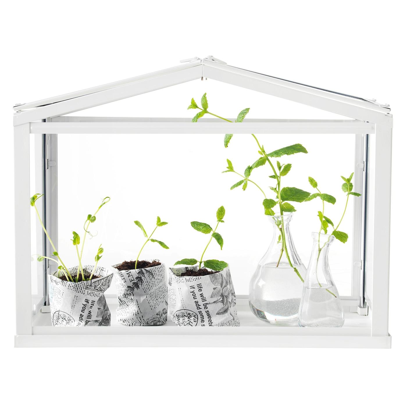 SOCKER Greenhouse, white, perfect for Ikea classroom
