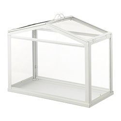 SOCKER greenhouse, indoor/outdoor white