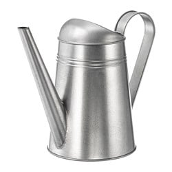 SOCKER watering can, indoor/outdoor galvanized, galvanized