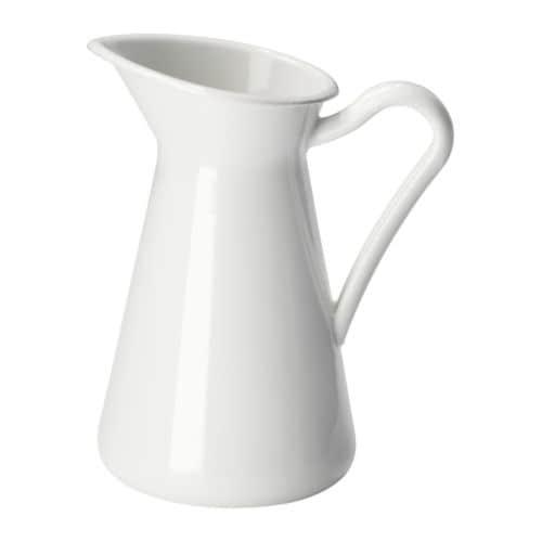 SOCKERÄRT Vase, white white 6