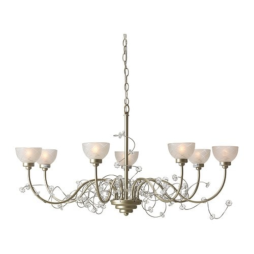 s der chandelier 7 armed ikea. Black Bedroom Furniture Sets. Home Design Ideas