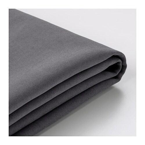 S 214 Derhamn Cover For Ottoman Samsta Dark Gray Ikea