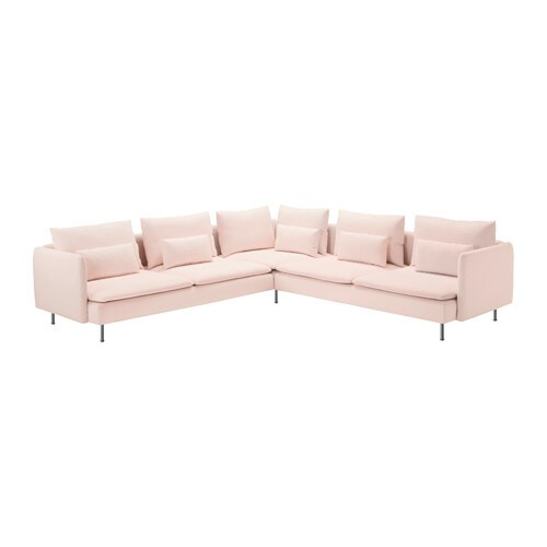 sderhamn sectional 4seat corner ikea durable microfiber which is soft and smooth