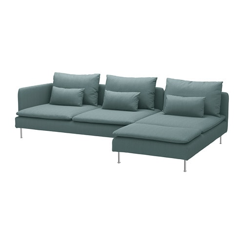 S 214 Derhamn Sectional 4 Seat With Chaise And Open End