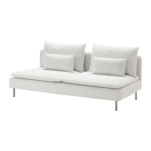 SÖderhamn Sofa Section Finnsta White