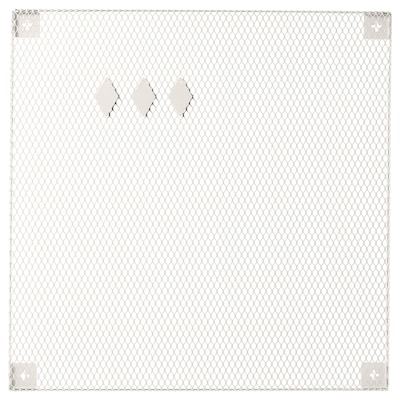 SÖDERGARN Memo board with magnets, white, 23 ½x23 ½ ""