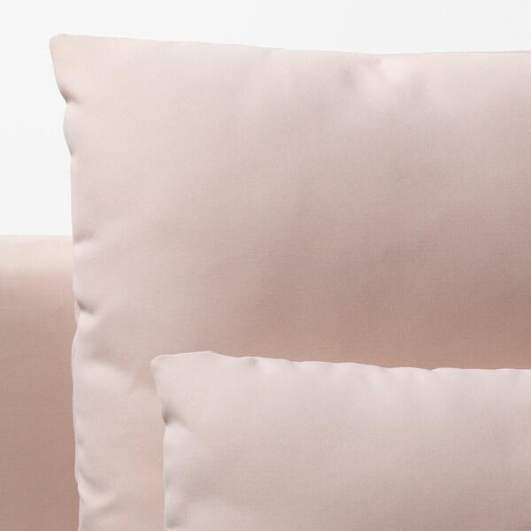 """SÖDERHAMN sofa section Samsta light pink 73 1/4 """" 39 """" 32 5/8 """" 73 1/4 """" 18 7/8 """" 15 3/4 """""""