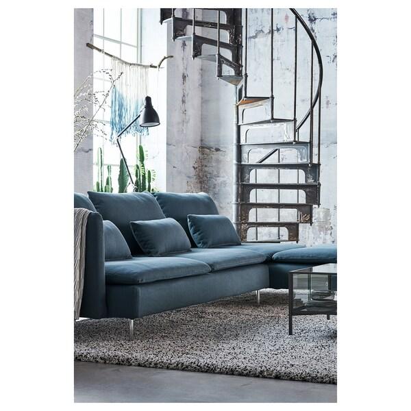 SÖDERHAMN Chaise, Finnsta turquoise