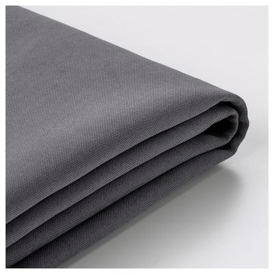 SÖDERHAMN Cover for ottoman, Samsta dark gray