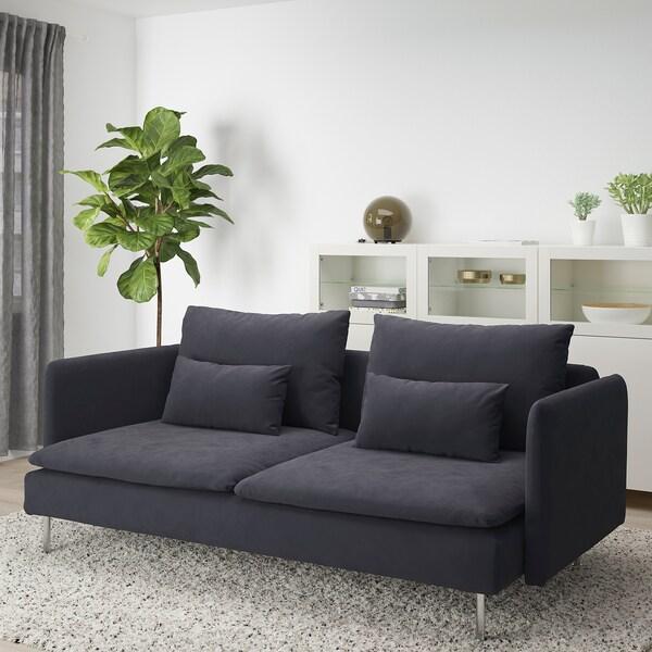 SÖDERHAMN Sofa, Samsta dark gray