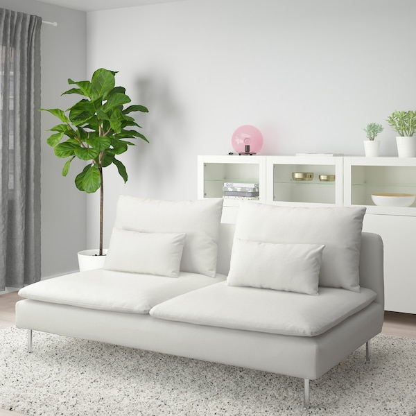 SÖDERHAMN Sofa section, Finnsta white