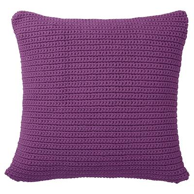 "SÖTHOLMEN Cushion cover, in/outdoor, purple, 20x20 """