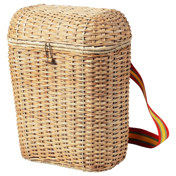 "SOLBLEKT backpack rattan 13 "" 7 "" 16 ½ "" 247 oz 5 gallon"