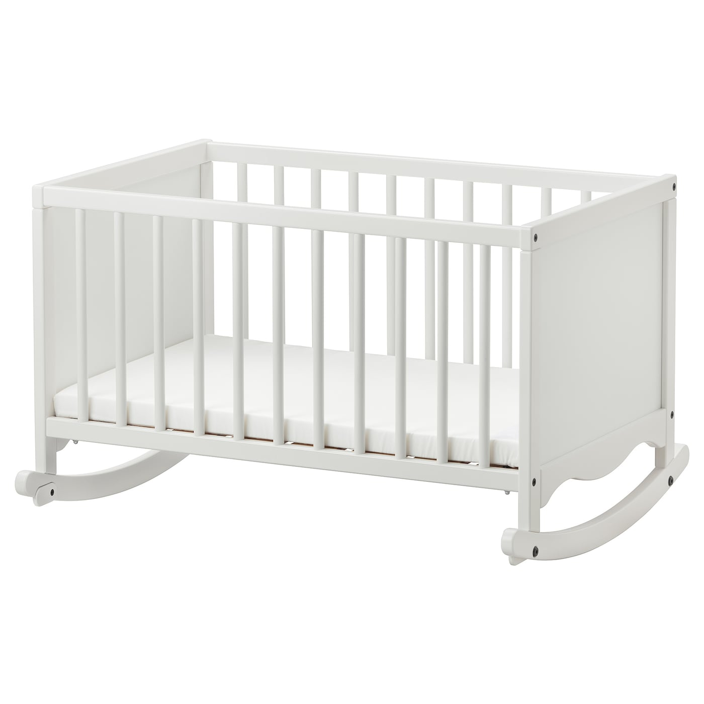 Solgul Cradle With Sleeping Pad White 26x33 1 8 Ikea
