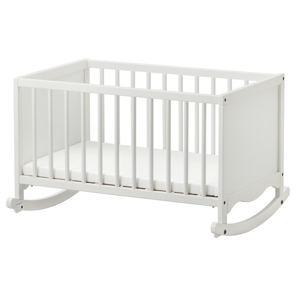 Cradle With Sleeping Pad Solgul White