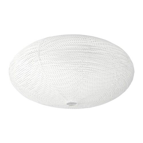 SOLLEFTEÅ Ceiling lamp, white white -