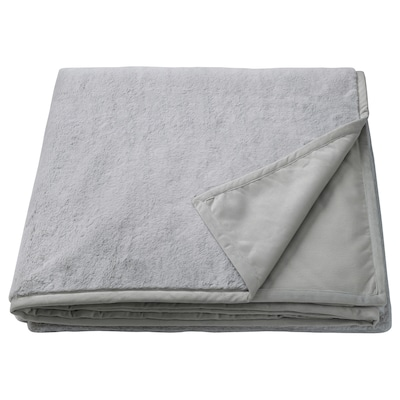 SOLTULPAN Bedspread, light gray, King