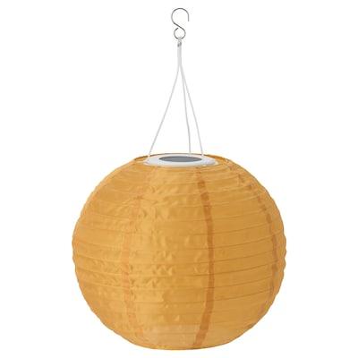"SOLVINDEN LED solar-powered pendant lamp outdoor/globe gold 2 Lumen 12 "" 10 "" 10 """