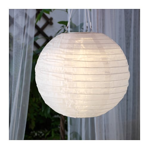 Solvinden Led Solar Powered Pendant Lamp Ikea