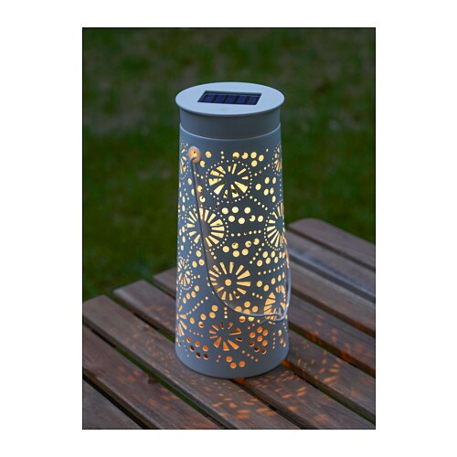 Solvinden Led Solar Powered Table Lamp Ikea