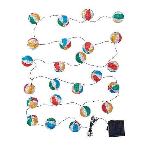 Solvinden Led String Light With 24 Lights