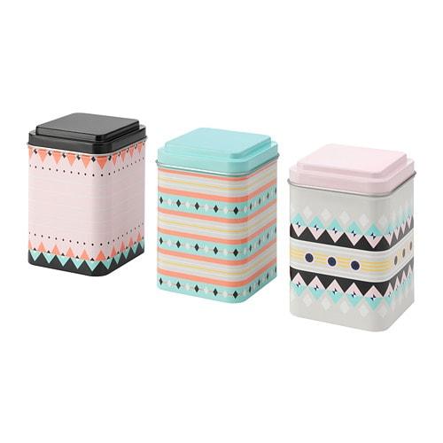sommar 2018 tin with lid ikea. Black Bedroom Furniture Sets. Home Design Ideas