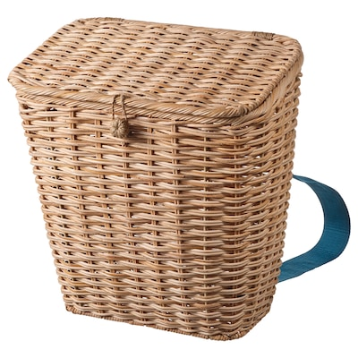 SOMMARDRÖM Backpack, rattan, 5 gallon