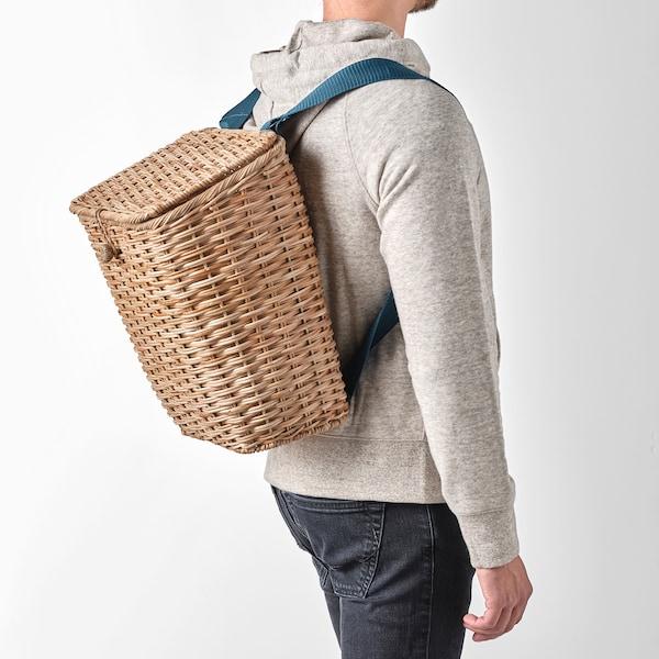 SOMMARDRÖM Backpack, rattan, 5 gallon