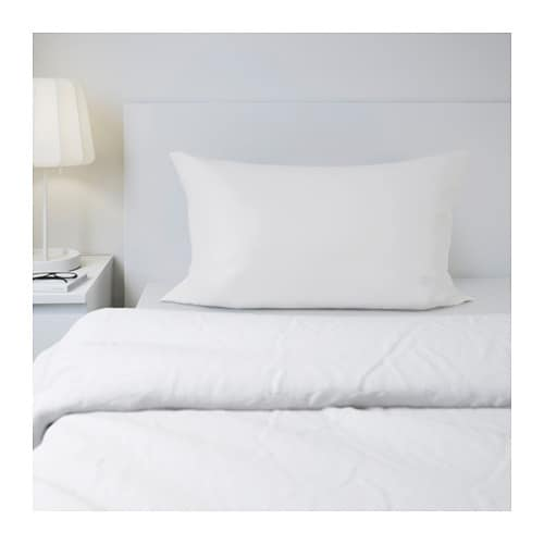 SÖMNIG Pillowcase IKEA The lyocell/cotton blend absorbs and draws moisture away from your body and keeps you dry all night long.