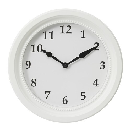 SNDRUM Wall Clock IKEA The Is Bordered By A Classic Molded