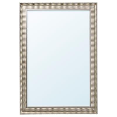 """SONGE Mirror, silver color, 35 7/8x51 1/8 """""""