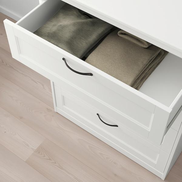 "SONGESAND 4-drawer chest, white, 32 1/4x41 """