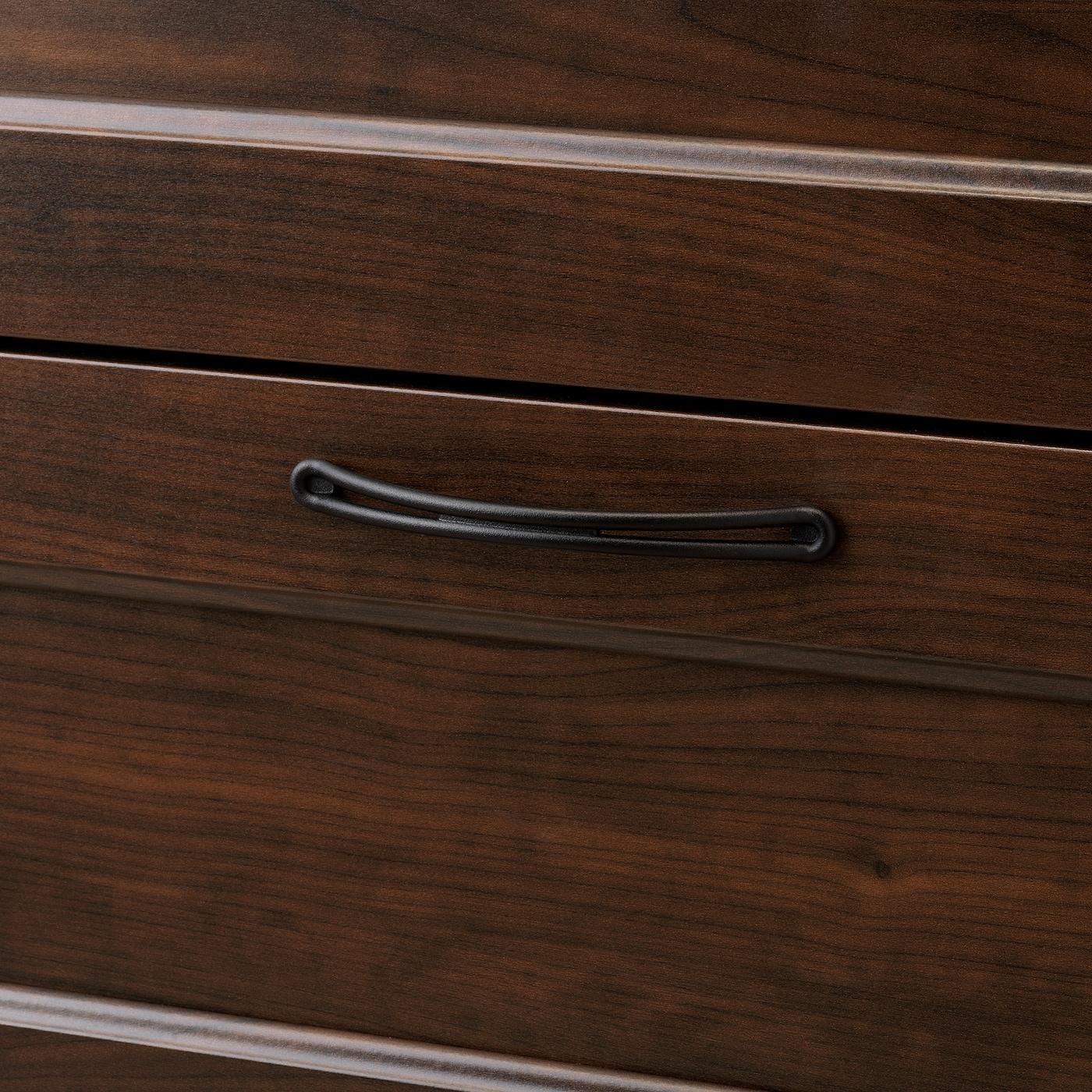 "SONGESAND 6-drawer chest, brown, 32 1/4x49 5/8 """