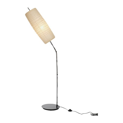 SÖRE Floor lamp IKEA The lamp has a sculptural expression and brings an artistic attitude to the room.