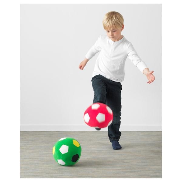 "SPARKA soft toy soccer ball/green 7 ¾ """