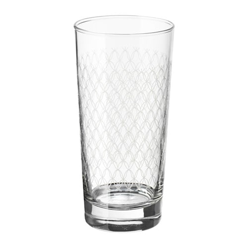 SPILLTID Glass, patterned