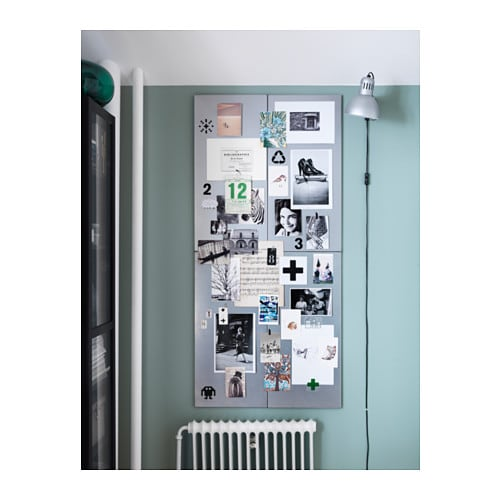 SPONTAN Magnetic board IKEA Can be hung horizontally or vertically.