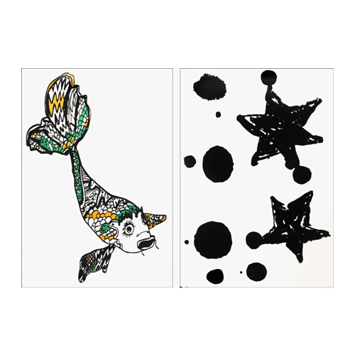 Spridd decorative stickers ikea - Stickers bambini ikea ...