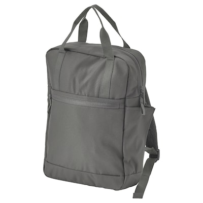 "STARTTID Backpack, gray, 10 ¾x3 ½x15 ""/3 gallon"