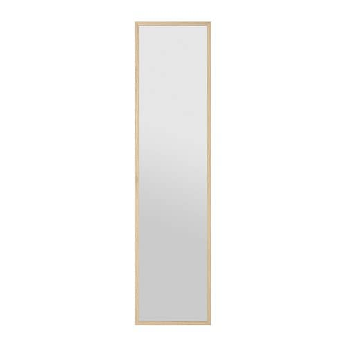 Stave mirror 15 3 4x63 ikea for Miroir 40x60
